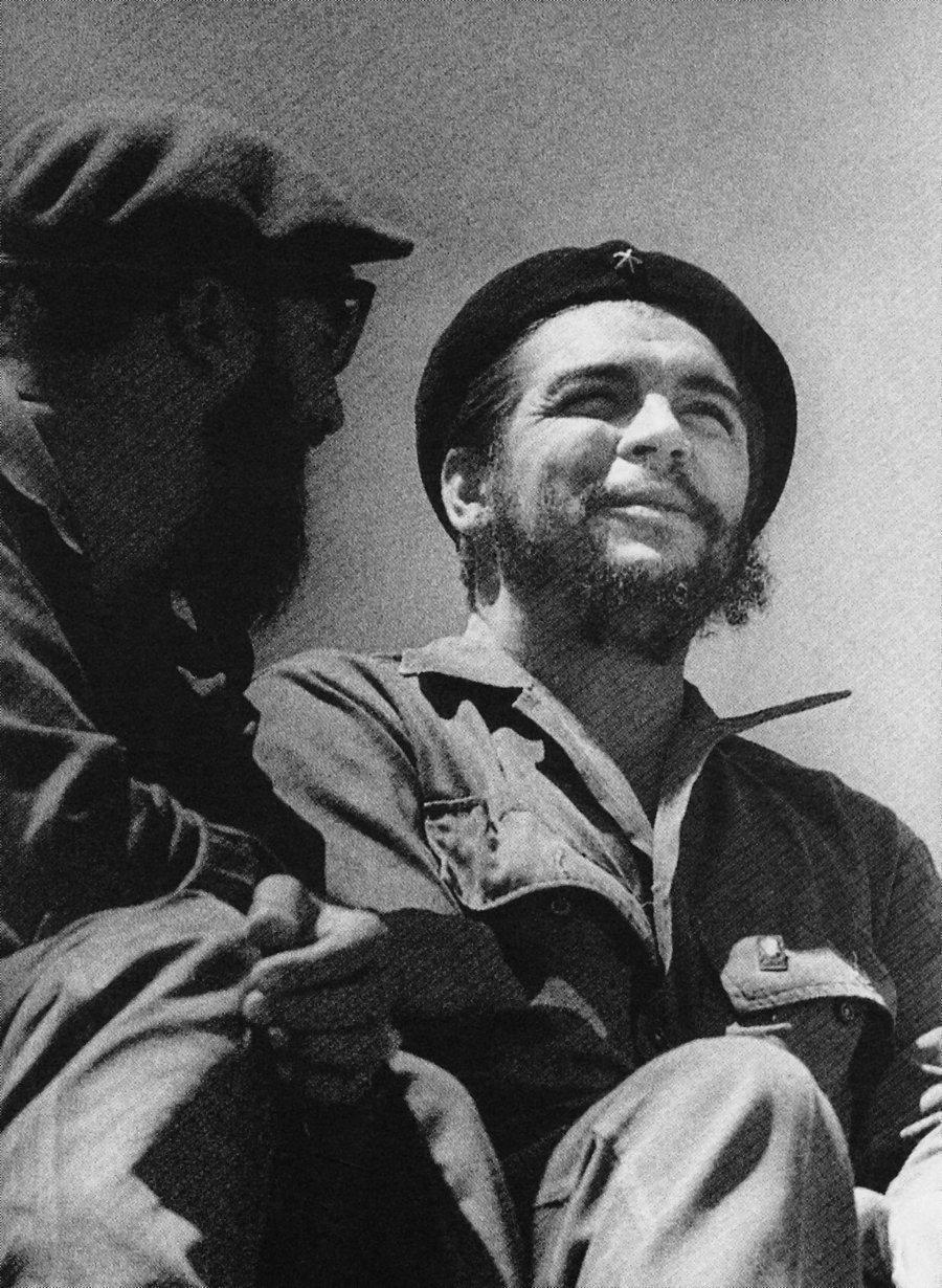Che Guevara with Fidel Castro