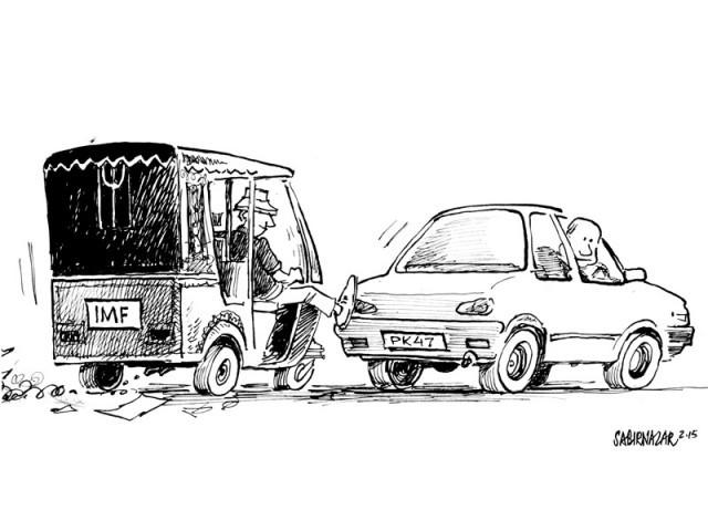pakistan imf cartoon