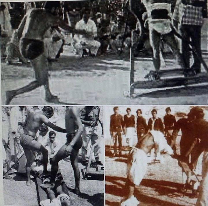 public lashing during zia regime
