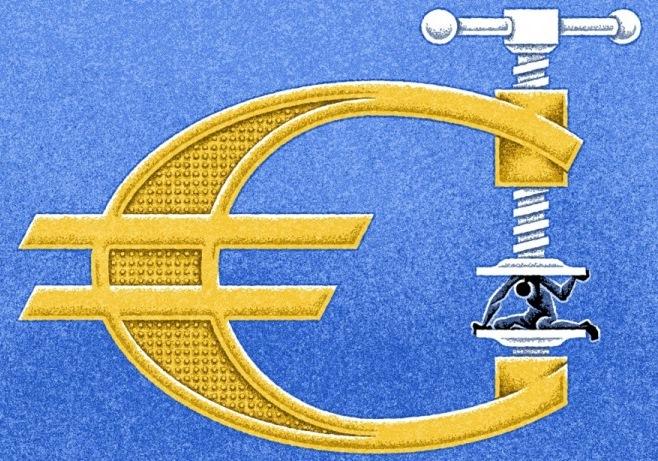 eu cartoon greece european union
