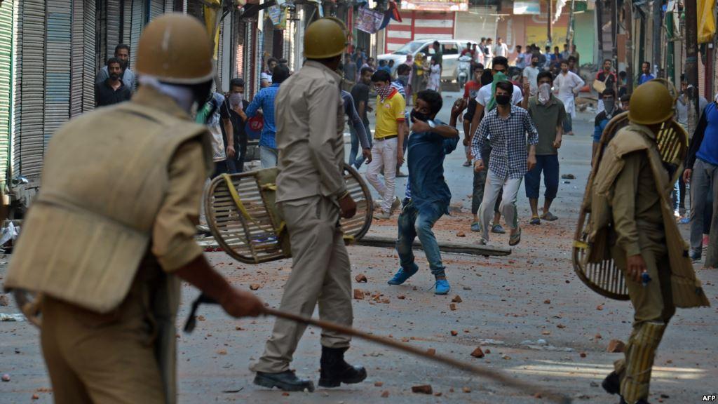 Kashmir protests 2016